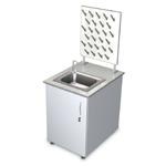 Лабораторная мебель ММЛ-01 - Стол-мойка пристенная