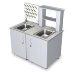 Лабораторная мебель ММЛ-21 - Стол-мойка универсальная