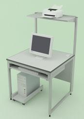 Лабораторная мебель NordLine - Стол для компьютера 800х790х750 (1350)
