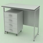 Лабораторная мебель NordLine - Стол лабораторный 900х790х900